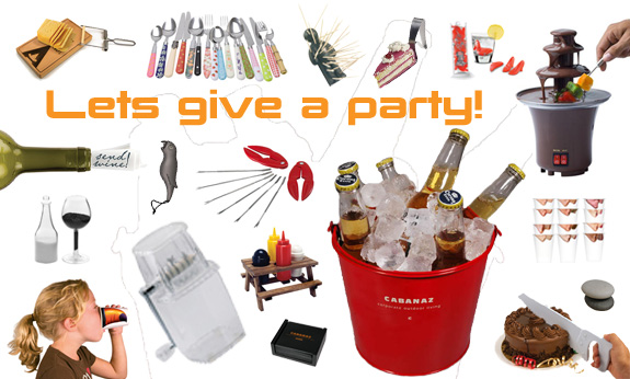Partytime?? Spice up your party with this cool stuff!