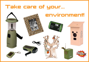 Sun-energie and natural products are good for the environment! Do you already have them at home?